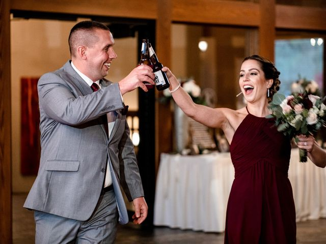 Chris and Ashley's Wedding in Ellicottville, New York 19