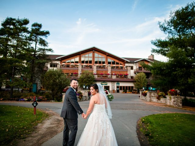 Chris and Ashley's Wedding in Ellicottville, New York 23