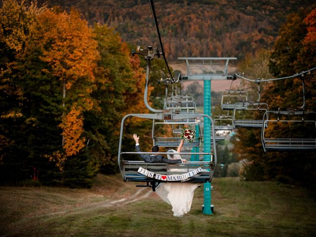 Chris and Ashley's Wedding in Ellicottville, New York 24