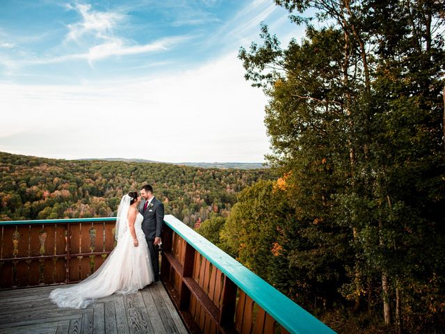 Chris and Ashley's Wedding in Ellicottville, New York 25