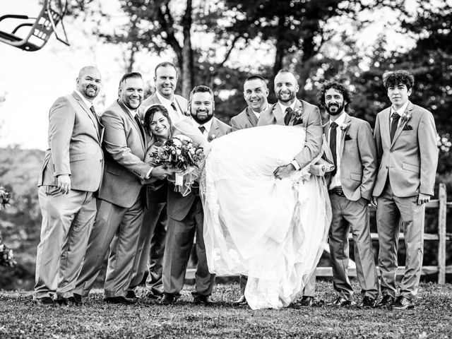Chris and Ashley's Wedding in Ellicottville, New York 28
