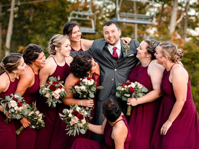 Chris and Ashley's Wedding in Ellicottville, New York 29