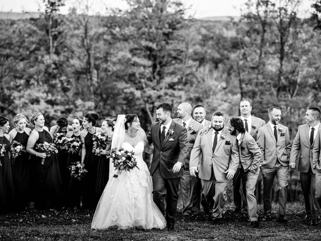 Chris and Ashley's Wedding in Ellicottville, New York 30