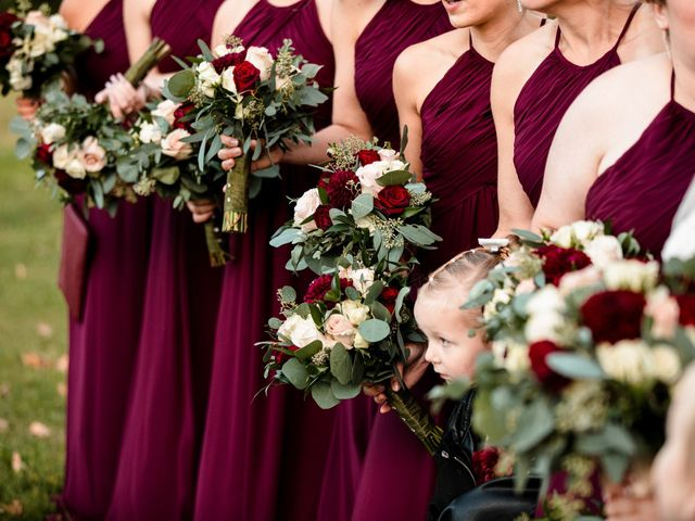 Chris and Ashley's Wedding in Ellicottville, New York 32