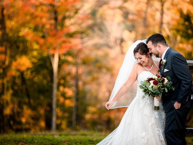 Chris and Ashley's Wedding in Ellicottville, New York 34