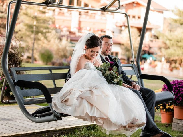 Chris and Ashley's Wedding in Ellicottville, New York 36