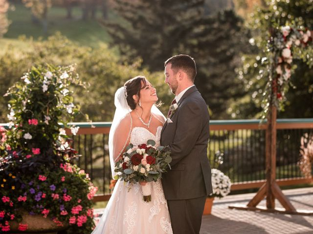 Chris and Ashley's Wedding in Ellicottville, New York 37