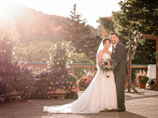 Chris and Ashley's Wedding in Ellicottville, New York 38