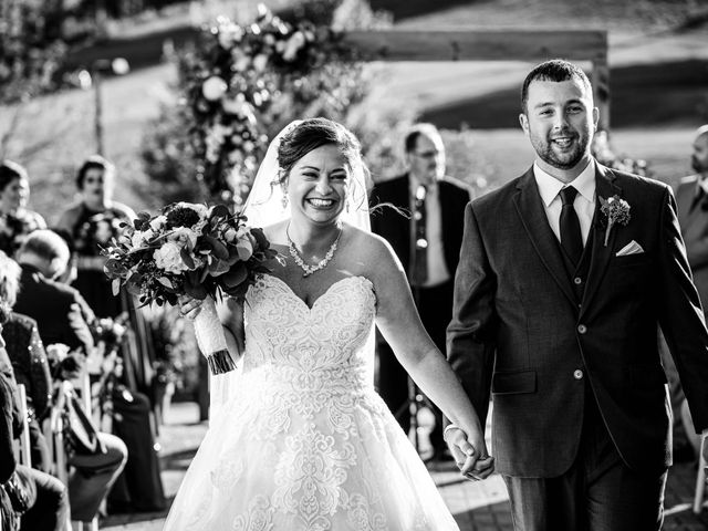 Chris and Ashley's Wedding in Ellicottville, New York 45