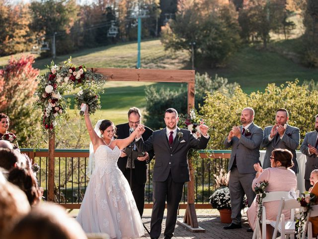 Chris and Ashley's Wedding in Ellicottville, New York 46