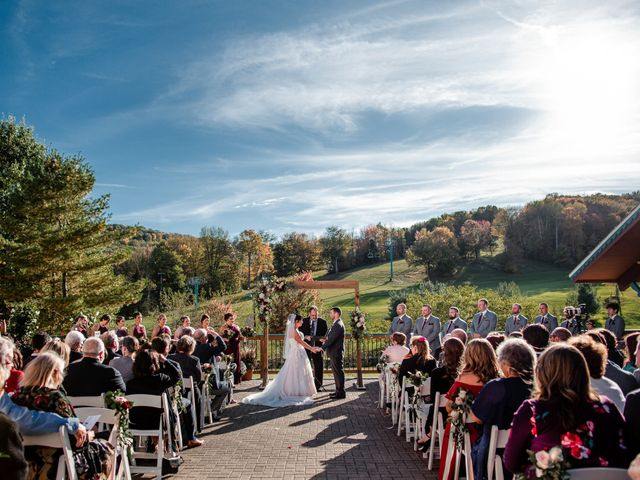 Chris and Ashley's Wedding in Ellicottville, New York 1