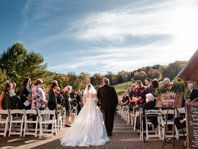 Chris and Ashley's Wedding in Ellicottville, New York 51