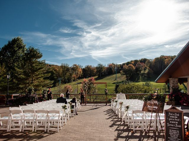 Chris and Ashley's Wedding in Ellicottville, New York 61