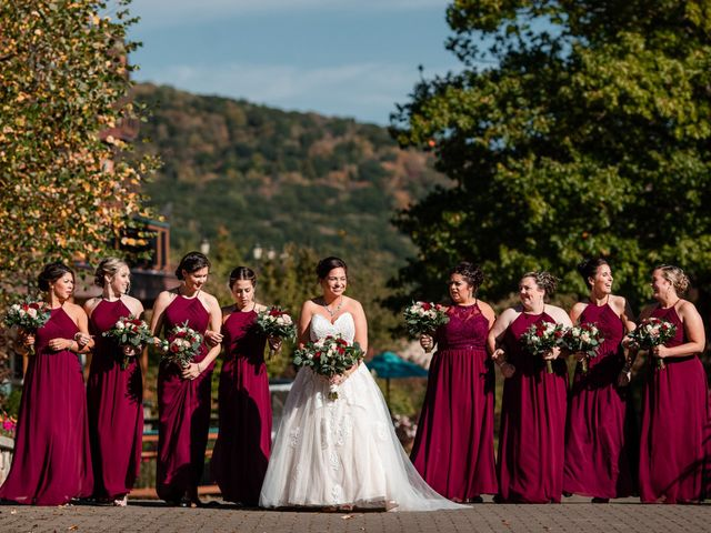 Chris and Ashley's Wedding in Ellicottville, New York 72