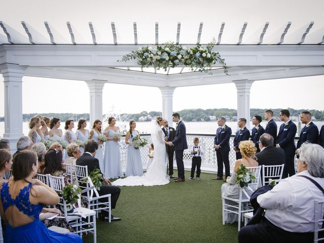 Michael and Kasandra's Wedding in Point Pleasant Beach, New Jersey 21