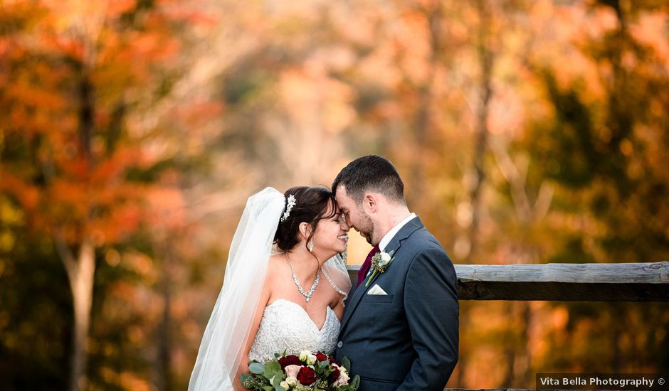 Chris and Ashley's Wedding in Ellicottville, New York