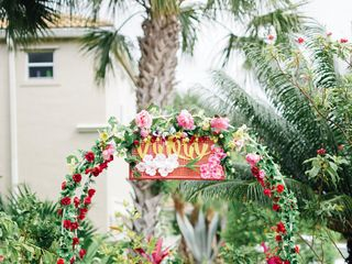 Melissa and Brody's wedding in Florida 7