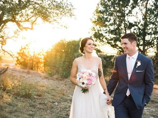 Megan and Trey's Wedding in Dripping Springs, Texas 11