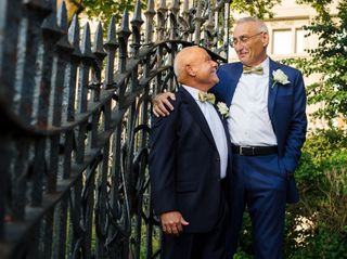 The wedding of Jerry and Bill