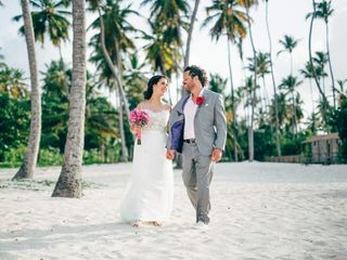 The wedding of Evelyn and Chad
