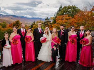 Nathan and Tiffany's Wedding in Newry, Maine 3