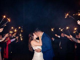 The wedding of Amanda and Dustin 1