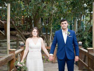 The wedding of Amanda and Dustin