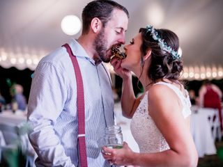 The wedding of Erin and Matt 1