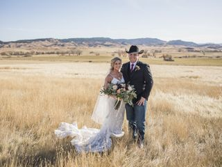 The wedding of Lexy and Samuel