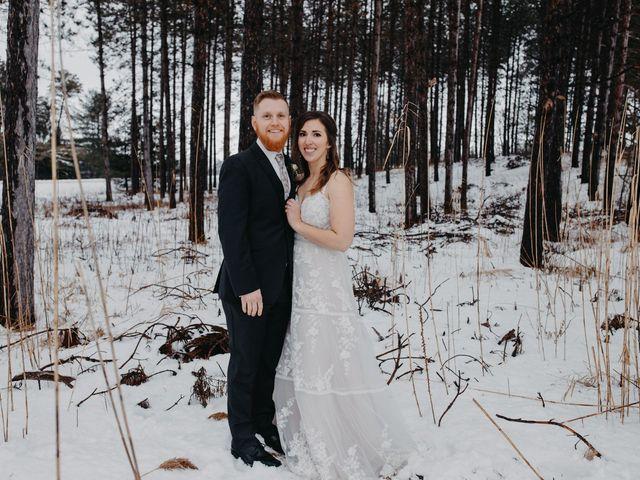 The wedding of Alyssa and Elijah