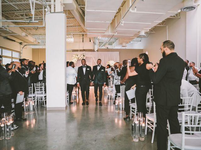 Marreo and Pierre's Wedding in Dallas, Texas 18