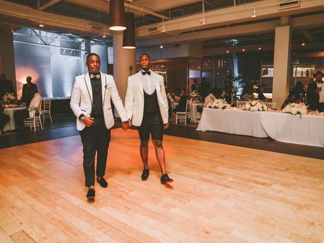 Marreo and Pierre's Wedding in Dallas, Texas 23