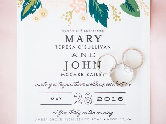 Mary and John's Wedding in Moseley, Virginia 1