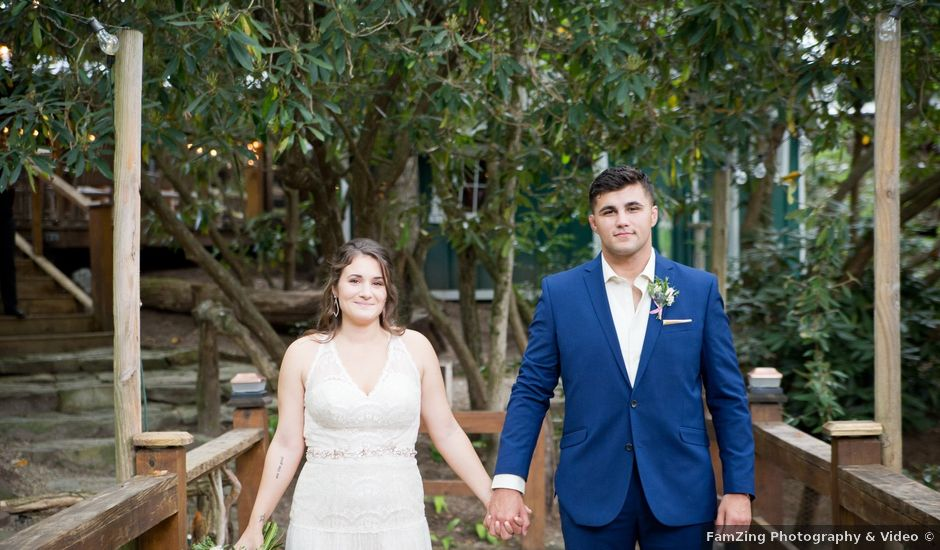 Dustin and Amanda's Wedding in Glenville, North Carolina