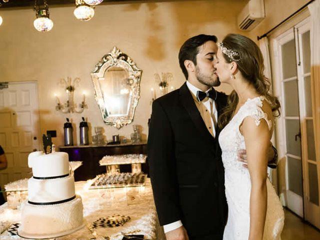The wedding of Juan and Caroline