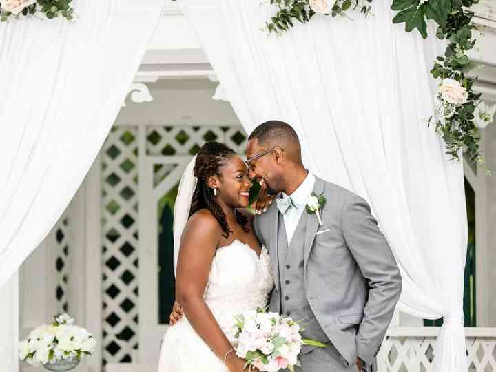 The wedding of DeAlisa and Jamal