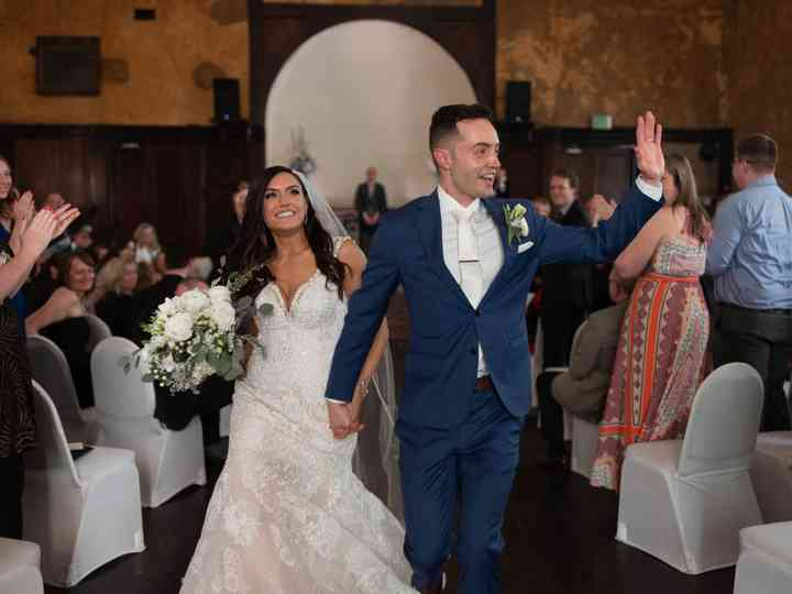 The wedding of Peej and Cathy