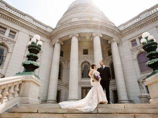 The wedding of Jorden and Zach