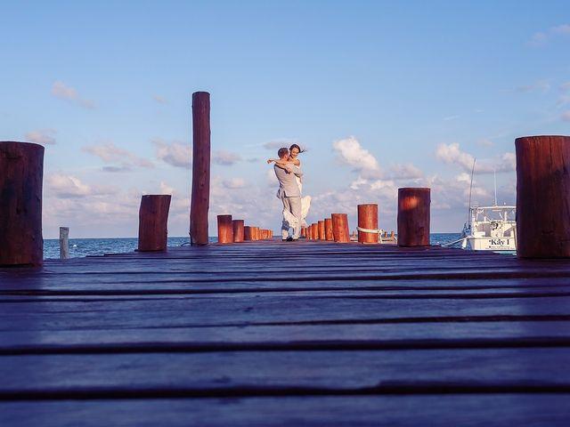 James and Christina's Wedding in Playa del Carmen, Mexico 1