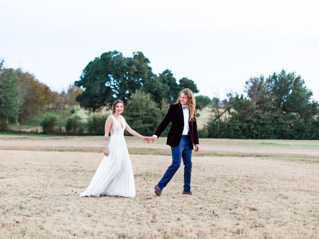 The wedding of Hannah and Logan