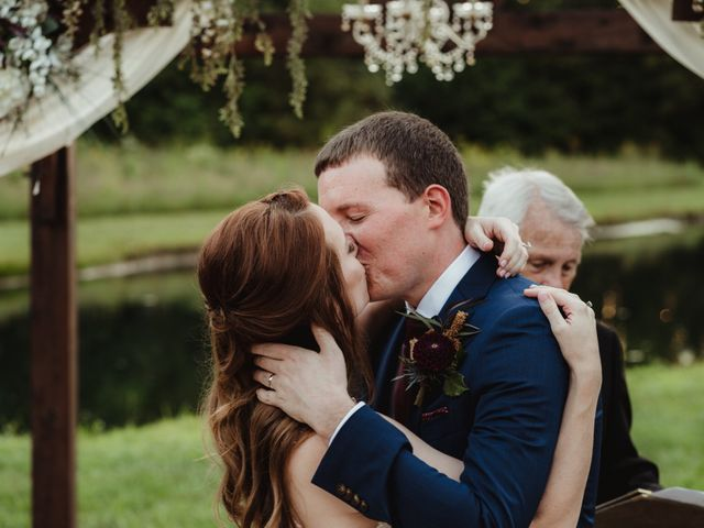 The wedding of Lacey and Kyle