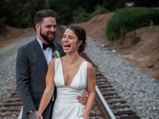 The wedding of Devan and Colin 1