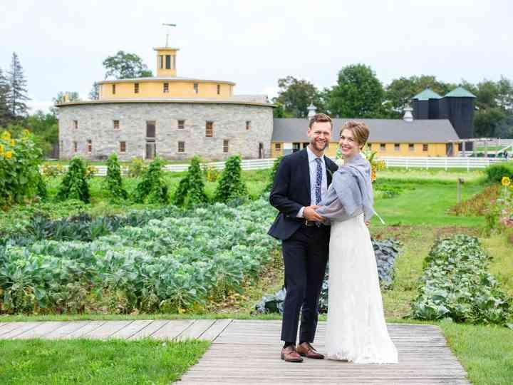 The wedding of Emma and Luke
