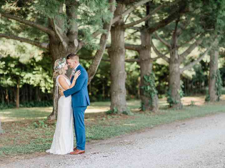 The wedding of Kayleigh and Connor