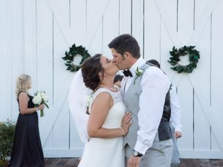 The wedding of Brittany and Dylan