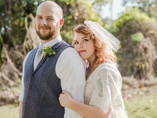 The wedding of Heather and Kyle
