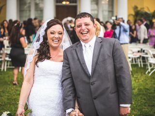 The wedding of Joe and Lisa