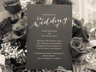 The wedding of Karen and Tony 2