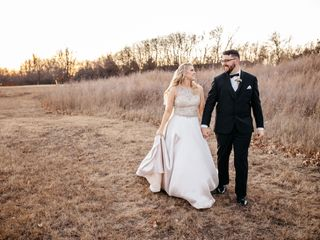 The wedding of Julianne and Kevin