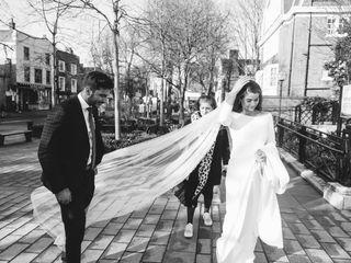 The wedding of Teresa and Adil